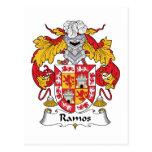 Escudo de la familia de Ramos Tarjetas Postales