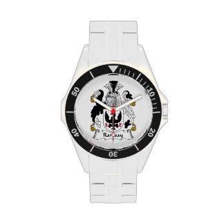 Escudo de la familia de Ramsay Relojes De Mano