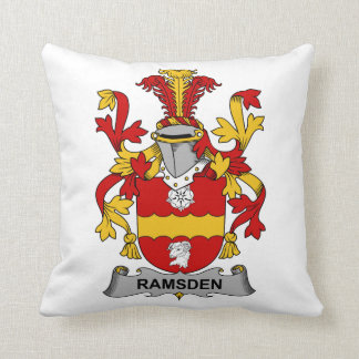 Escudo de la familia de Ramsden Cojin