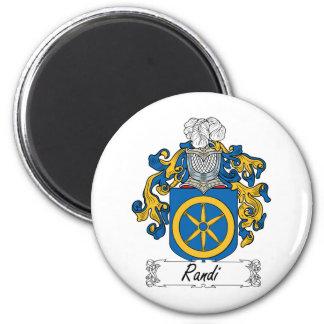 Escudo de la familia de Randi Imán Redondo 5 Cm