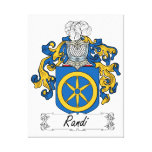 Escudo de la familia de Randi Lona Envuelta Para Galerias