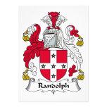 Escudo de la familia de Randolph Anuncio