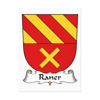 Escudo de la familia de Raner Lona Envuelta Para Galerías