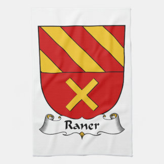 Escudo de la familia de Raner Toalla De Mano