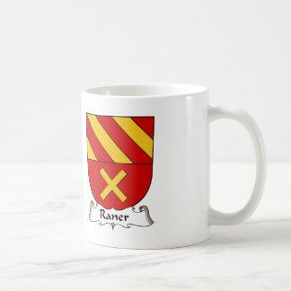 Escudo de la familia de Raner Tazas De Café
