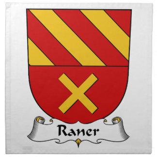 Escudo de la familia de Raner Servilletas De Papel