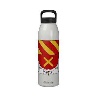 Escudo de la familia de Raner Botellas De Agua Reutilizables