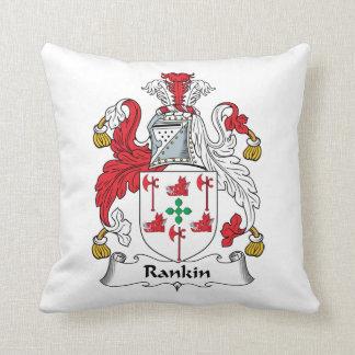 Escudo de la familia de Rankin Almohadas