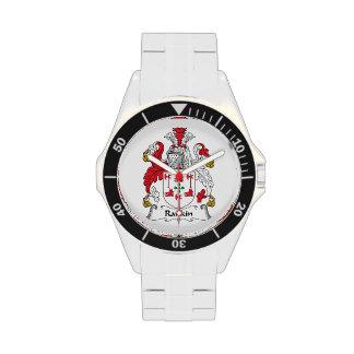 Escudo de la familia de Rankin Reloj