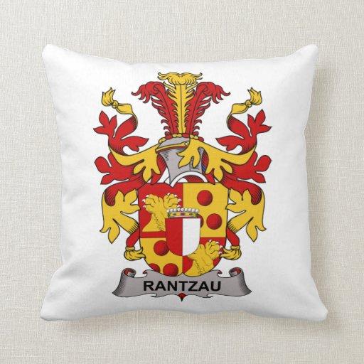 Escudo de la familia de Rantzau Almohada