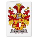 Escudo de la familia de Rantzau Felicitación