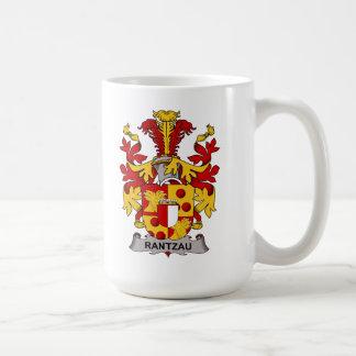 Escudo de la familia de Rantzau Taza