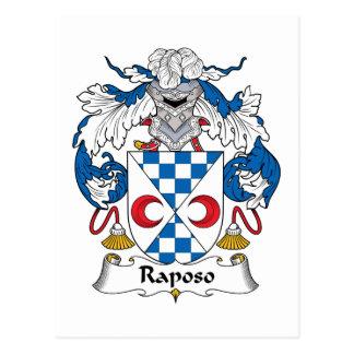 Escudo de la familia de Raposo Postal