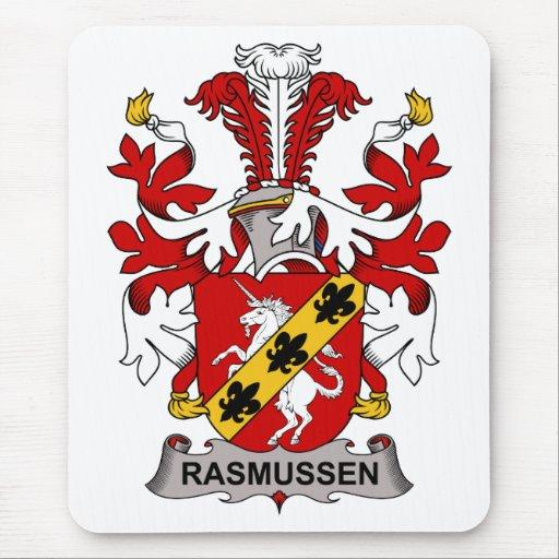 Escudo de la familia de Rasmussen Alfombrilla De Ratón
