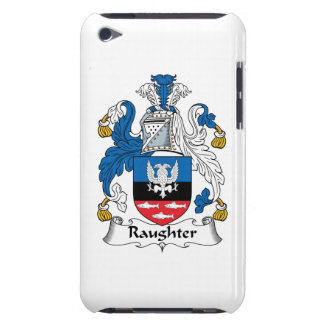 Escudo de la familia de Raughter iPod Touch Case-Mate Carcasa