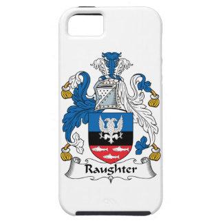 Escudo de la familia de Raughter iPhone 5 Cobertura