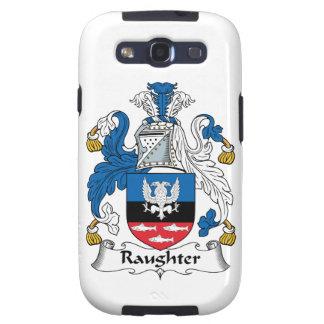 Escudo de la familia de Raughter Galaxy S3 Coberturas