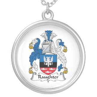 Escudo de la familia de Raughter Colgantes