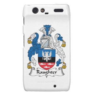 Escudo de la familia de Raughter Droid RAZR Fundas