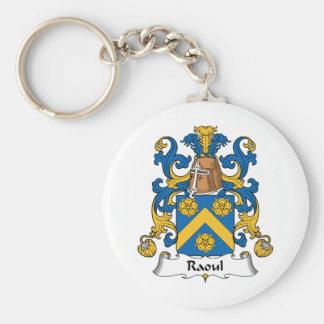 Escudo de la familia de Raúl Llavero Redondo Tipo Pin