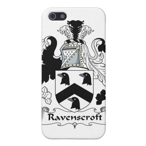Escudo de la familia de Ravenscroft iPhone 5 Cárcasa