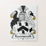 Escudo de la familia de Ravenscroft Puzzle