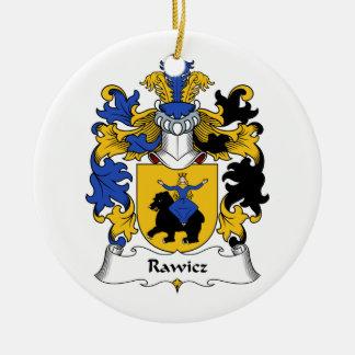 Escudo de la familia de Rawicz Ornaments Para Arbol De Navidad