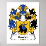 Escudo de la familia de Rawicz Impresiones