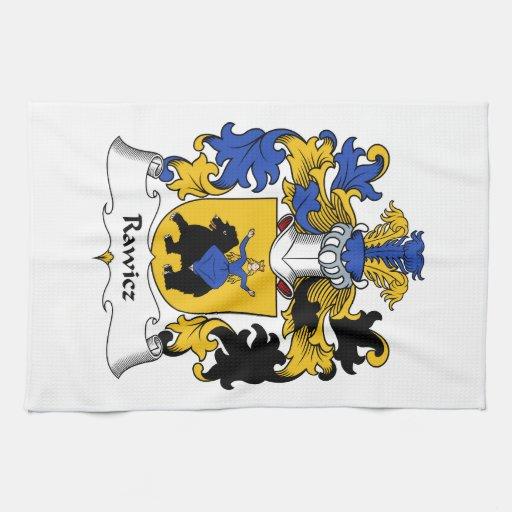 Escudo de la familia de Rawicz Toallas