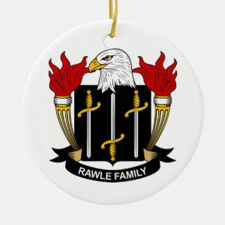 Escudo de la familia de Rawle Ornamentos De Reyes