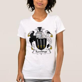 Escudo de la familia de Rawlings Camisetas