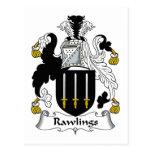 Escudo de la familia de Rawlings Postal