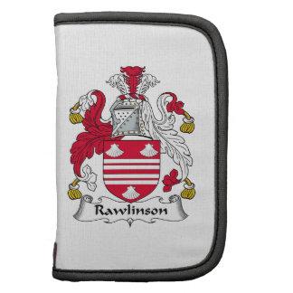 Escudo de la familia de Rawlinson Planificadores