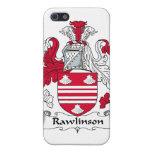 Escudo de la familia de Rawlinson iPhone 5 Cárcasa