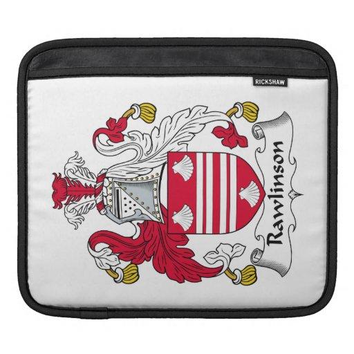 Escudo de la familia de Rawlinson Mangas De iPad