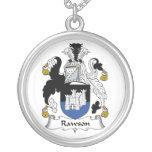 Escudo de la familia de Rawson Pendiente Personalizado