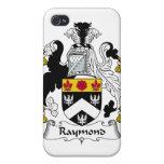 Escudo de la familia de Raymond iPhone 4 Cobertura