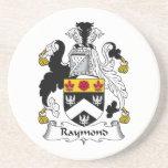Escudo de la familia de Raymond Posavasos Manualidades