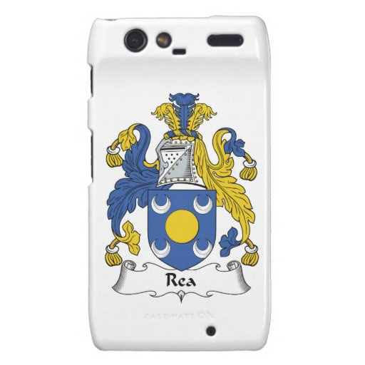 Escudo de la familia de Rea Motorola Droid RAZR Carcasas