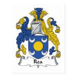 Escudo de la familia de Rea Postal