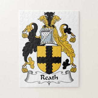 Escudo de la familia de Reath Puzzle Con Fotos
