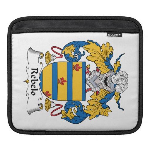Escudo de la familia de Rebelo Funda Para iPads