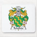Escudo de la familia de Rebolledo Tapete De Raton