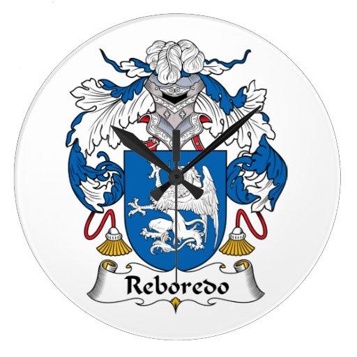 Escudo de la familia de Reboredo Reloj Redondo Grande