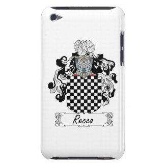 Escudo de la familia de Recco Barely There iPod Fundas