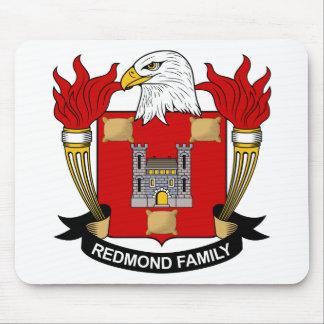 Escudo de la familia de Redmond Alfombrillas De Ratón