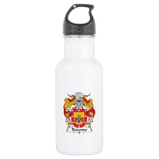 Escudo de la familia de Redondo Botella De Agua De Acero Inoxidable