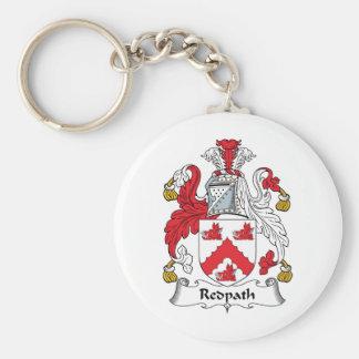 Escudo de la familia de Redpath Llavero Redondo Tipo Pin