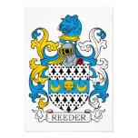 Escudo de la familia de Reeder