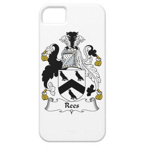 Escudo de la familia de Rees iPhone 5 Carcasas